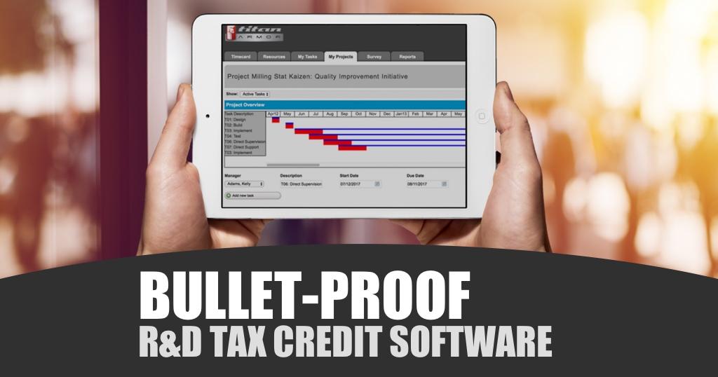 r&d tax credit software